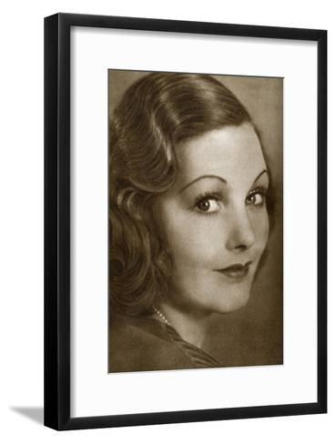 Elizabeth Allan, English Actress, 1933--Framed Art Print