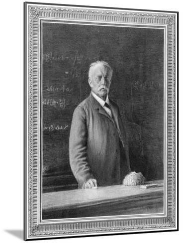 Hermann Von Helmholtz (1821-189), German Physicist and Physiologist, 1894--Mounted Giclee Print
