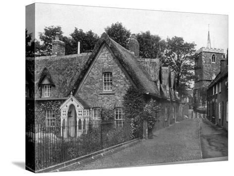 St Mary's Square, Horncastle, Lincolnshire, 1924-1926-Valentine & Sons-Stretched Canvas Print