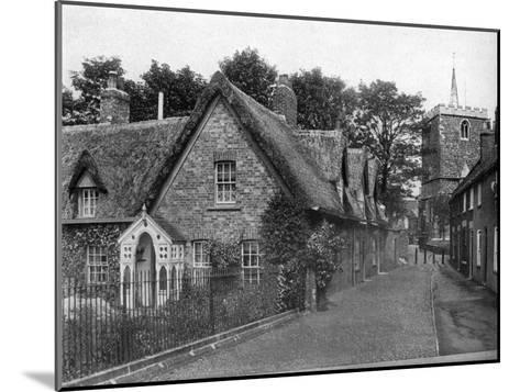 St Mary's Square, Horncastle, Lincolnshire, 1924-1926-Valentine & Sons-Mounted Giclee Print