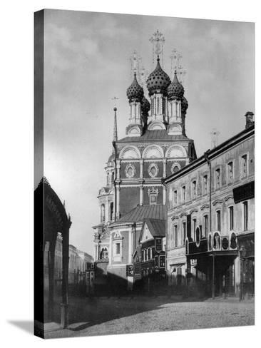 Church of St Nicholas the Miracle Maker (The Big Cros), Moscow, Russia, 1881- Scherer Nabholz & Co-Stretched Canvas Print