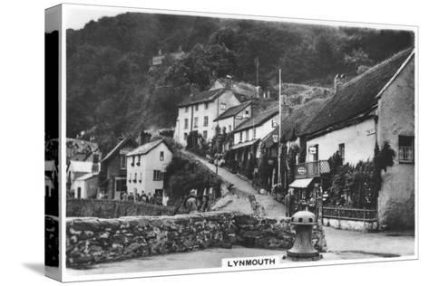 Lynmouth, Devon, England, 1936--Stretched Canvas Print