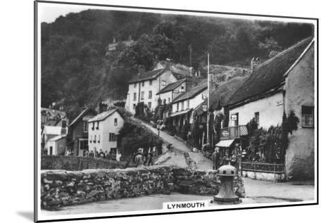 Lynmouth, Devon, England, 1936--Mounted Giclee Print