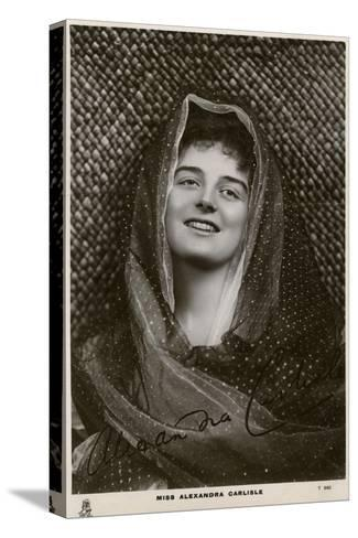 Alexandra Carlisle, British Actress, C1900s-C1910S- Tuck and Sons-Stretched Canvas Print
