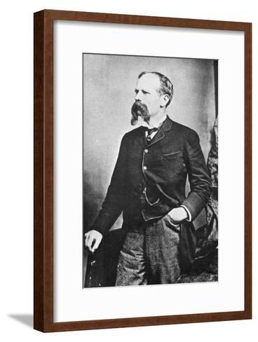 Benjamin Baker (1840-190), British Civil Engineer, C1890--Framed Art Print