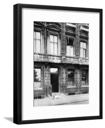 The Savage Club, Adelphi Terrace, London, 1926-1927- Joel-Framed Art Print