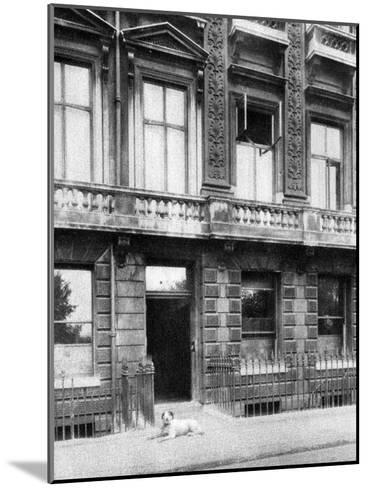 The Savage Club, Adelphi Terrace, London, 1926-1927- Joel-Mounted Giclee Print