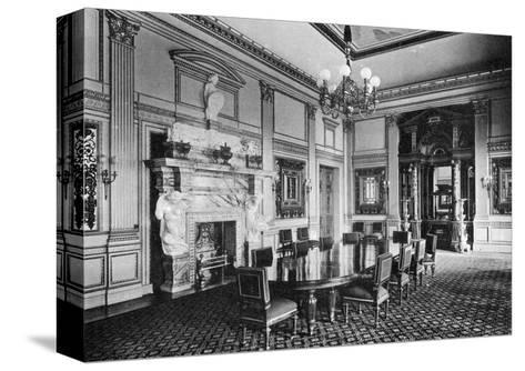 The Dining Room, Dorchester House, 1908--Stretched Canvas Print