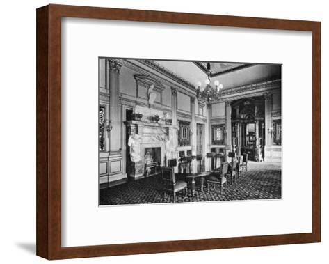 The Dining Room, Dorchester House, 1908--Framed Art Print