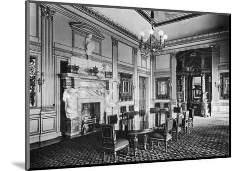 The Dining Room, Dorchester House, 1908--Mounted Giclee Print