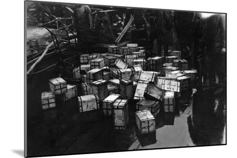 Transportation of £14,000,000 of Bullion on the British Battleship HMS Malaya, 1940--Mounted Giclee Print