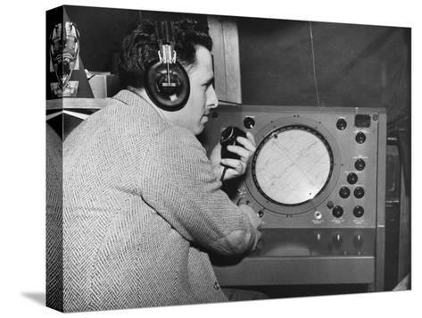 Radar Operator, Marshall Plan, 1947-1951--Stretched Canvas Print