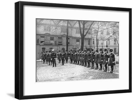 May Day Parade in the Tower of London, 20th Century--Framed Art Print