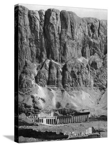 The Temple of Deir-El-Bahari, Egypt, 1936--Stretched Canvas Print