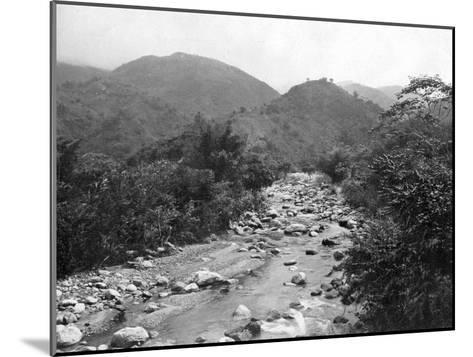 The Wag-River, Castleton, Jamaica, C1905-Adolphe & Son Duperly-Mounted Giclee Print