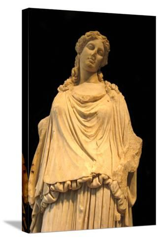 Eirene, the Godess of Peace (Roman Copy from a Greek Origina), 1st H. 1st C Ad--Stretched Canvas Print