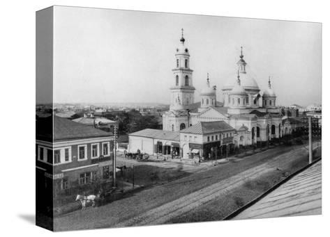 The Church of St Basil of Caesarea, Moscow, Russia, 1889- Scherer Nabholz & Co-Stretched Canvas Print