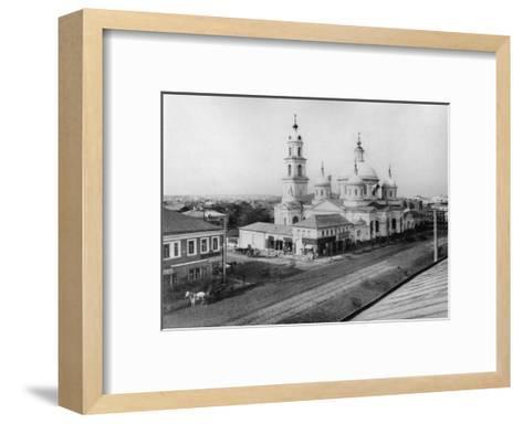 The Church of St Basil of Caesarea, Moscow, Russia, 1889- Scherer Nabholz & Co-Framed Art Print