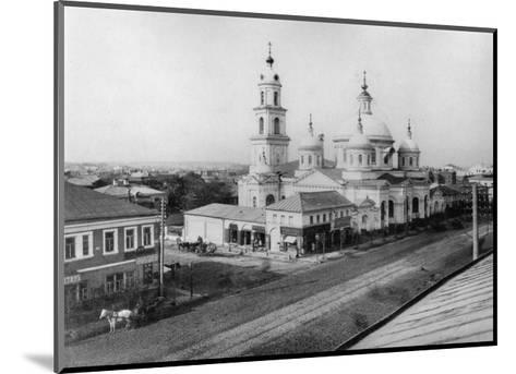 The Church of St Basil of Caesarea, Moscow, Russia, 1889- Scherer Nabholz & Co-Mounted Giclee Print
