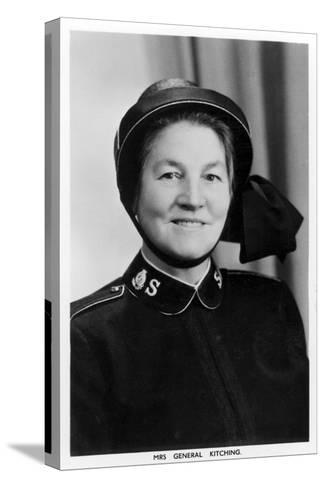 Mrs General Kitching, C1930s-C1940s--Stretched Canvas Print