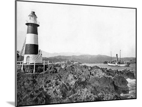 Entrance to Port Antonio, Jamaica, C1905-Adolphe & Son Duperly-Mounted Giclee Print