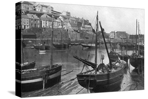 Mevagissey Harbour, Cornwall, 1924-1926-Underwood-Stretched Canvas Print