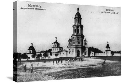 Monastery of St Andronicus, Moscow, Russia, 1900s- Scherer Nabholz & Co-Stretched Canvas Print
