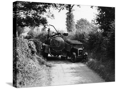 Bedford Truck with Jowett, 1920S--Stretched Canvas Print