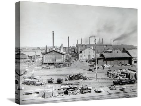 Lysva Iron Foundry, Russia, 1900s--Stretched Canvas Print