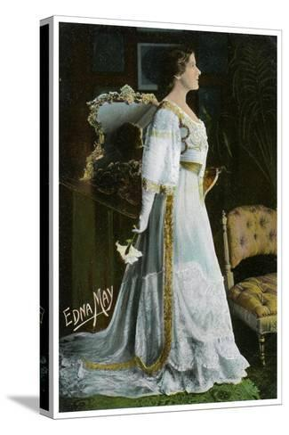 Edna May, American Actress and Singer, C1900-1919--Stretched Canvas Print