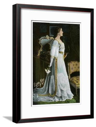 Edna May, American Actress and Singer, C1900-1919--Framed Art Print