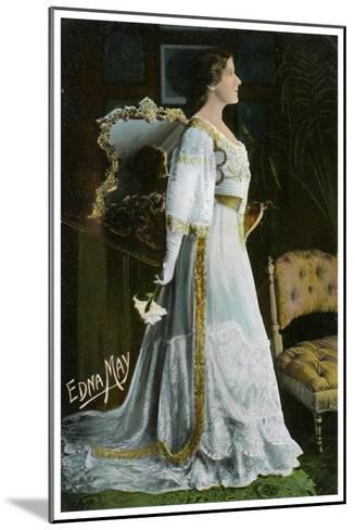 Edna May, American Actress and Singer, C1900-1919--Mounted Giclee Print