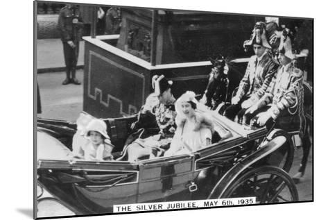 King George V's Silver Jubilee, London, May 6th, 1935--Mounted Giclee Print