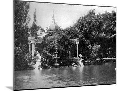 Zoological Gardens, Palermo Park, Buenos Aires, Argentina--Mounted Giclee Print