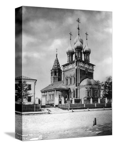 Church of the Deposition of the Robe, Moscow, Russia, 1882- Scherer Nabholz & Co-Stretched Canvas Print