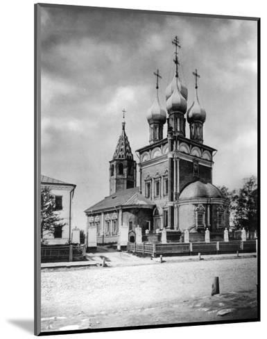 Church of the Deposition of the Robe, Moscow, Russia, 1882- Scherer Nabholz & Co-Mounted Giclee Print