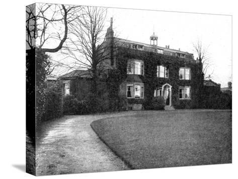 Gadshill, Near Rochester, Purchased by Dickens in 1856--Stretched Canvas Print