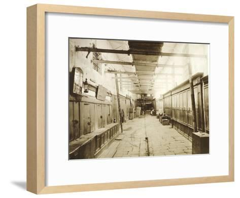 The Upper Trading Rows in Red Square, Moscow, Russia, 1886--Framed Art Print
