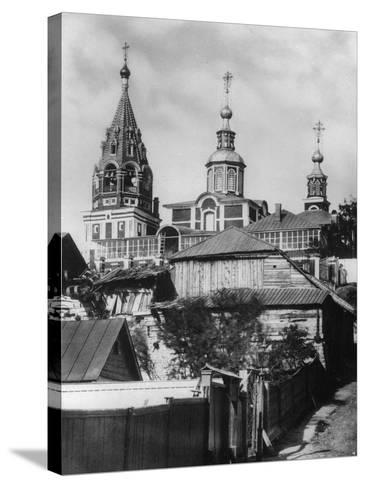 Church of the Holy Martyr Nikita, Moscow, Russia, 1881- Scherer Nabholz & Co-Stretched Canvas Print