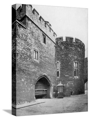 Bloody Tower, Tower of London, 20th Century--Stretched Canvas Print