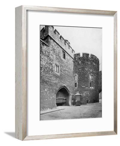Bloody Tower, Tower of London, 20th Century--Framed Art Print