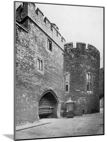 Bloody Tower, Tower of London, 20th Century--Mounted Giclee Print