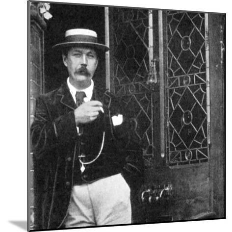 Arthur Conan Doyle, Scottish Writer, C1900--Mounted Giclee Print