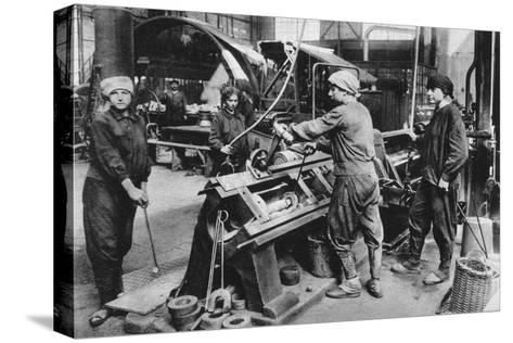German State Munition Factory, World War I, 1917--Stretched Canvas Print