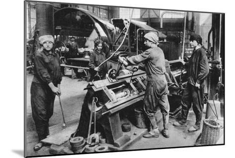 German State Munition Factory, World War I, 1917--Mounted Giclee Print