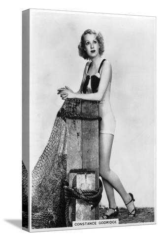 Constance Godridge, British Actress, 1938--Stretched Canvas Print
