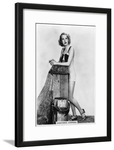 Constance Godridge, British Actress, 1938--Framed Art Print