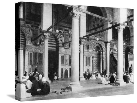The Mosque of El-Mouayad, Cairo, Egypt, C1920S--Stretched Canvas Print