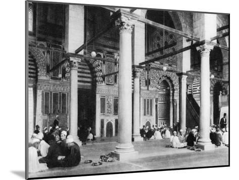 The Mosque of El-Mouayad, Cairo, Egypt, C1920S--Mounted Giclee Print