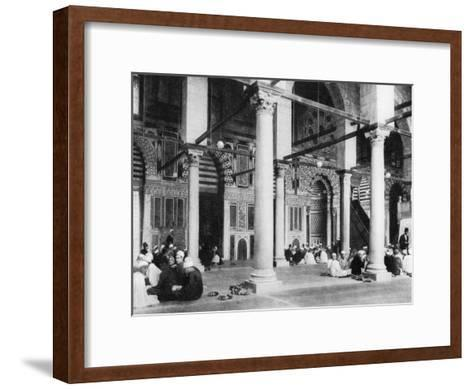 The Mosque of El-Mouayad, Cairo, Egypt, C1920S--Framed Art Print